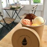 Barattolo in cartoncino avana per gelato e zuppe