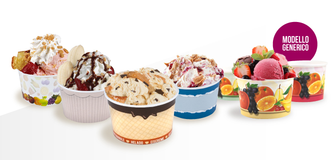 coppette per gelato