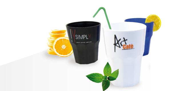 Bicchieri infrangibili plastica - Tumbler / Cocktail