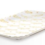 Vassoi cartone Bianco Accoppiato Politenato – Giolly