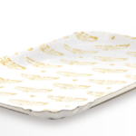 Vassoi Cartone Bianco Acc. Politenato