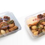 contenitori trasparenti per alimenti con stampa generica