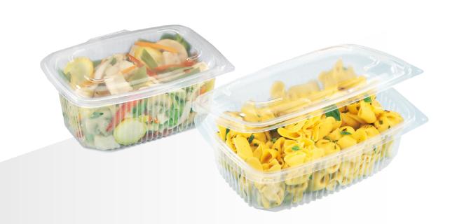 contenitore in polipropilene per alimenti caldi e freddi