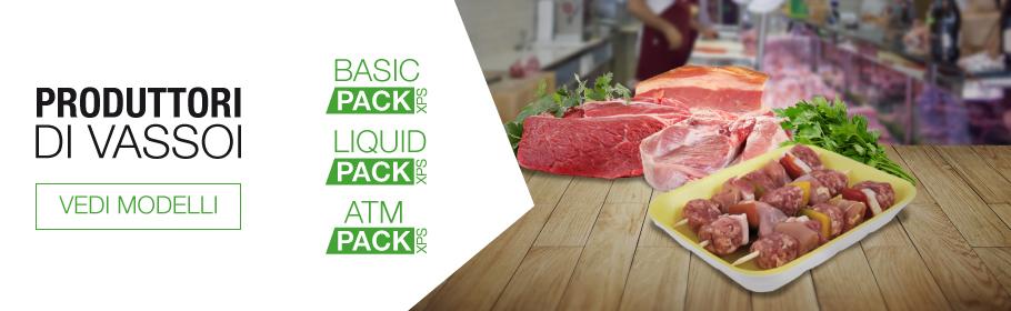 Tecnobox confezionamento e packaging per alimenti for Vassoi assorbenti